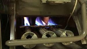 Old 1977 Lennox Gas Furnace Startup  G8d2-82-3