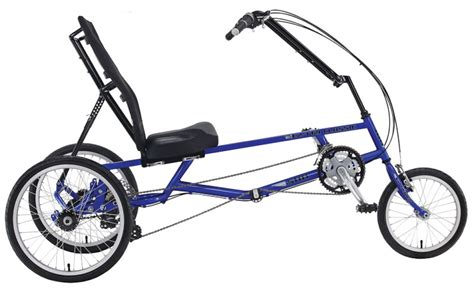 Monomano Recumbent Trike (21 Speed