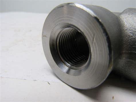 top mmu  degree pipe elbow  npt forged steel