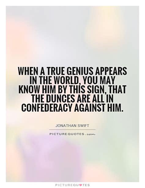 true genius appears   world