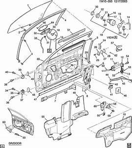 2001 Chevrolet Monte Carlo Ss Door Hardware  Front