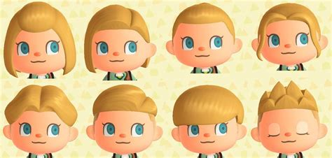 animal crossing  horizons top hairstyles pop cool