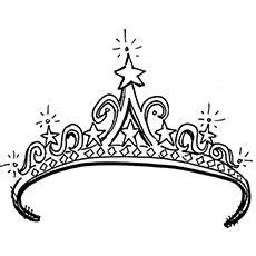 top   printable crown coloring pages