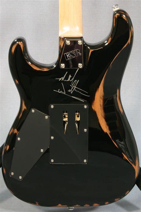 esp  demon guitar prototype ed roman guitars