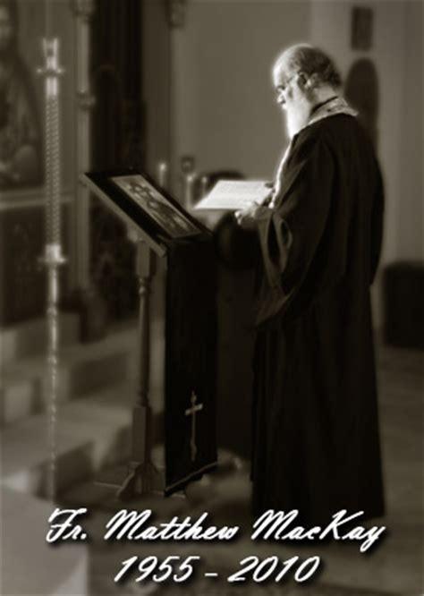 st joseph orthodox church  father matthew