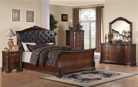 Coaster Maddison Bedroom Set Brown Cherry 202261 Bedset