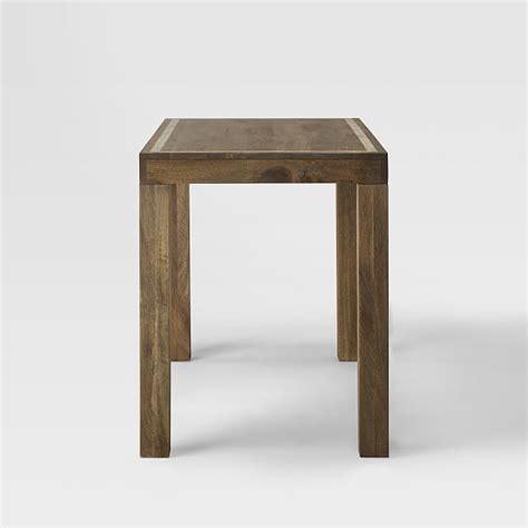 parsons desk bone inlay west elm