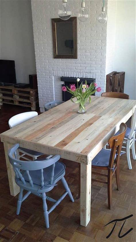 diy pallet dining table pallet furniture diy