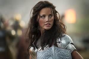 Thor 2 The Dark World Official Photo Sif Jaimie Alexander