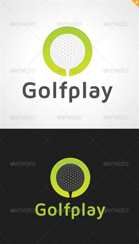 app golf design template pin by logoload on object logos pinterest 표지
