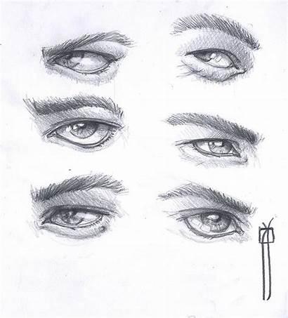 Dibujo Ojos Hombre Dibujos Dibujar Drawing Guardado