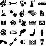 Parts Icons Spare Accessories Cars Middle Bikes
