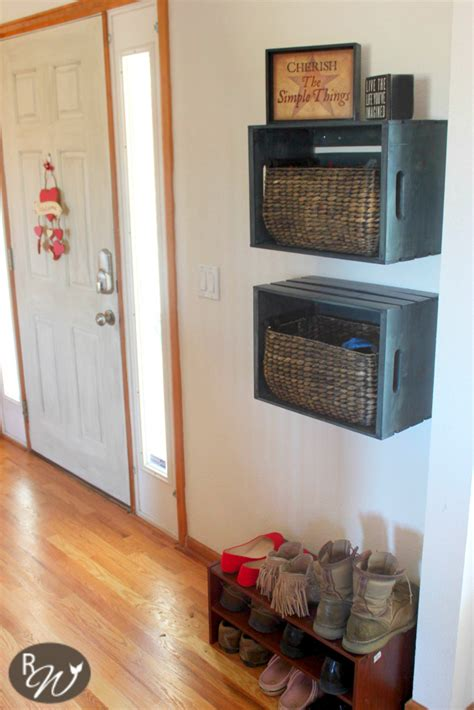 creative diy projects  wooden crates  craftiest couple