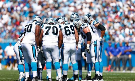 panthers  depth chart update   agency