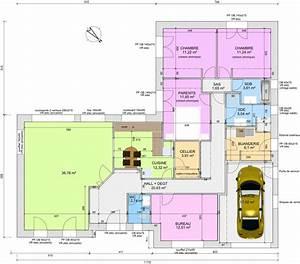 Plan Maison 4 Chambres Avec Suite Parentale : avis sur plan de plain pied 4 chambres de 145m 18 messages ~ Melissatoandfro.com Idées de Décoration