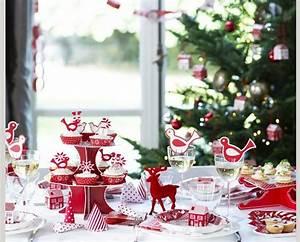 Tischdeko Rot Weiß : festliche tischdeko f r weihnachten ~ Indierocktalk.com Haus und Dekorationen