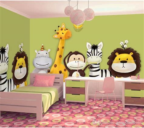 Animal Wallpaper For Children S Bedroom - custom mural wallpaper children s room bedroom