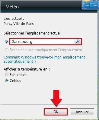 meteo sur le bureau windows 7 installer la meteo sur le bureau 28 images comment