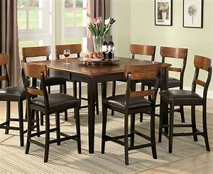 Dining room tables counter height marceladickcom for Dining room tables counter height
