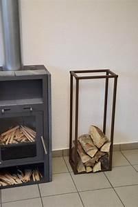 Holzlagerung Im Haus : kaminholzregal innen stab plan 1500x350 aus metall ~ Markanthonyermac.com Haus und Dekorationen