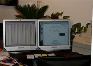 Zwei Monitore Verbinden : der computerarbeitsplatz ~ Jslefanu.com Haus und Dekorationen