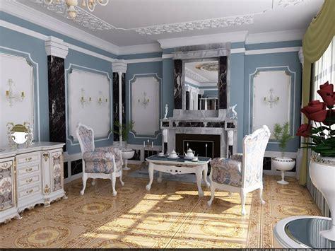Interior Design : Rococo Style Interior Design Ideas