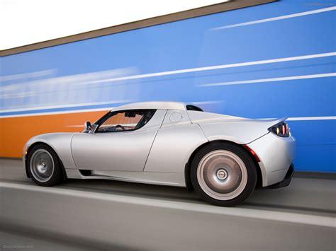 Tesla Roadster Sport Exotic Car Pictures 18 Of 72