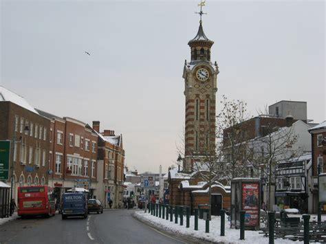 Epsom (01)   Epsom Clock Tower, High Street, Epsom, Surrey