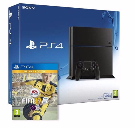 ps4 console bundle sony playstation 4 ps4 console 500 gb fifa 17