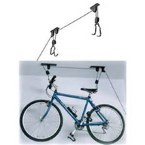 2 bicycle ceiling storage lift