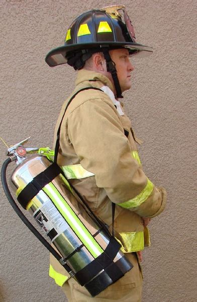 adjustable firefighter water  slingharness