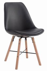 Chaise Cuisine Bois : chaise visiteur caen similicuir fauteuil bois scandinave salon cuisine bureau ebay ~ Melissatoandfro.com Idées de Décoration