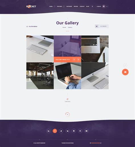 rocket creative multipurpose psd template
