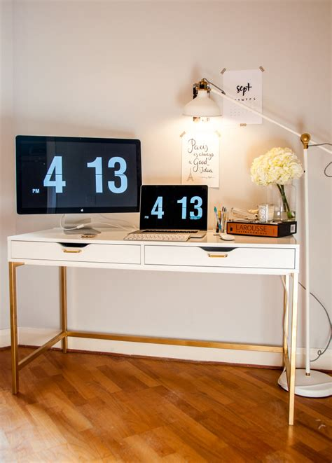Living Room Lighting Ideas Ikea by The Midas Touch Desk Hack Ikea Hackers
