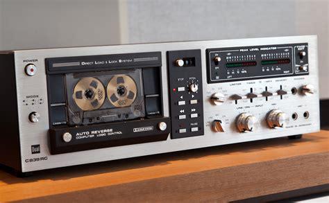 Cassette Deck Dual C839rc Revintages