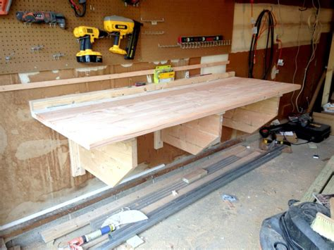 diy folding workbench easy instructions  building