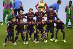 FC Barcelona Soccer Team 2016