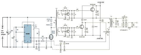 Circuit Diagram Inverter Welding Machine