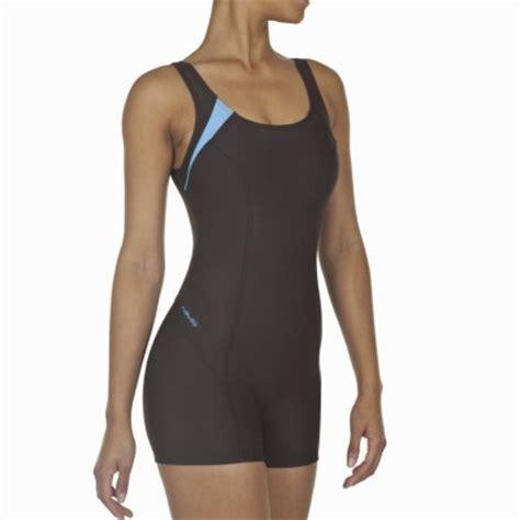 decathlon maillot de bain combishort maillot de bain 1 pi 232 ce aquanew marron decathlon