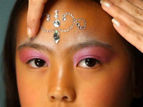 kids halloween makeup tutorial fairy princess hgtv