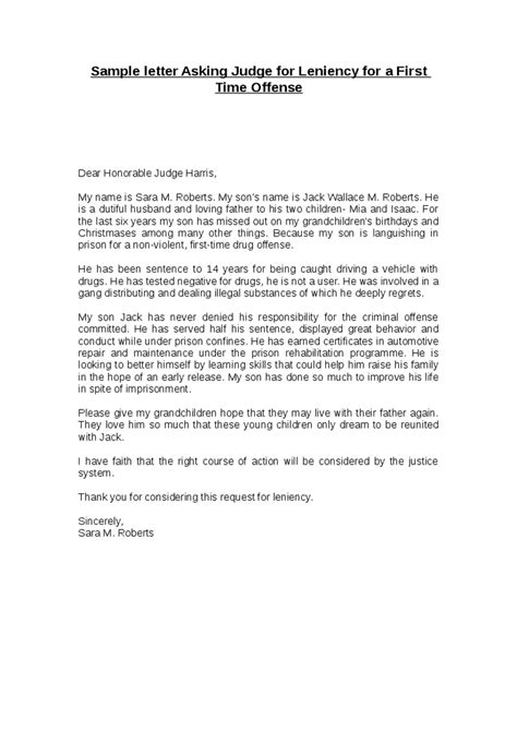 letter to a judge how to format cover letter