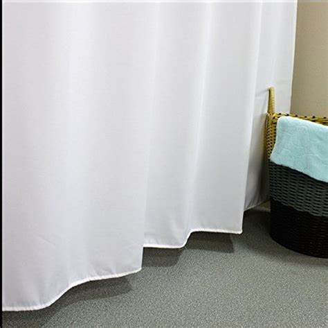 eforcurtain bath stall size 36 by 72 inch heavy duty