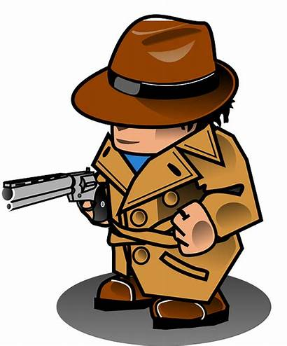 Detective Clipart Undercover Symbol Glass Magnifying Clip