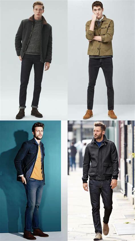 Men Desert Boot Outfit Inspiration Lookbook Classic