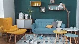 tendance deco couleur chambre cuisine salon vintage With couleur tendance pour salon 5 la cuisine marron inspiration cuisine