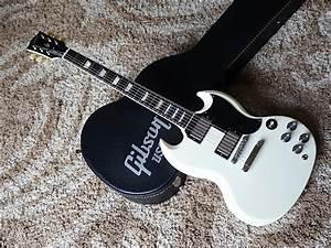 Gibson Sg Standard 2013 Aged White   U0026 39 61 Reissue