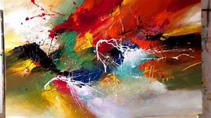 FOR YOU MY LOVE, painting by Dan Bunea, living abstract ...