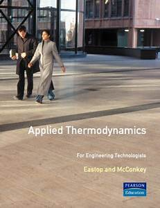 9780582215719  Applied Thermodynamics For Engineering