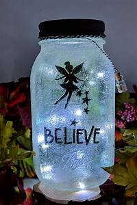 Fairy, Love, You, To, The, Moon, And, Back, Mason, Jar