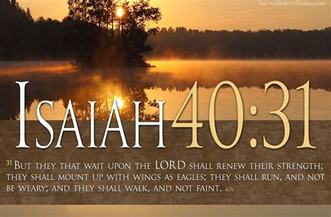 Bible Verses On Faith Isaiah 40